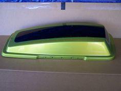 Harley Davidson OEM Right Side Saddlebag Lid Apple Green/Black