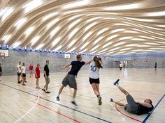 Gammel Hellerup Gymnasium Hellerup Denmark Bjarke Ingels Group (BIG)