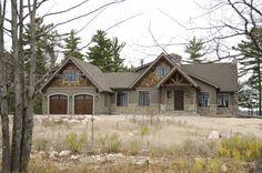 Craftsman Exterior, House Paint Exterior, Dream House Exterior, Exterior House Colors, Exterior Design, Mountain Home Exterior, Mountain Homes, Timber Frame Homes, Timber House