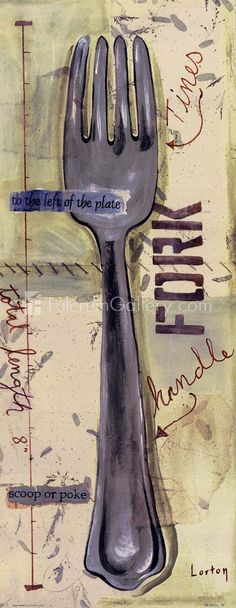 fork, el tenedor