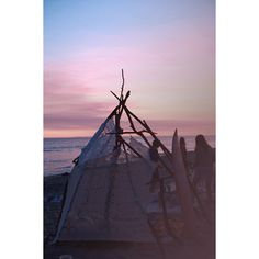 WEEKEND ESCAPE BEACH CAMPING IN CALIFORNIA ❤ liked on Polyvore featuring backgrounds