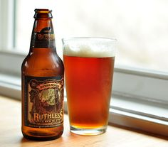 sierra nevada ruthless rye * a rye IPA * for spring