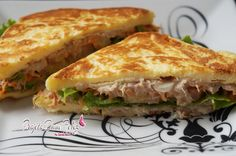 Dieta Dukan: Receita Sanduíche  Natural de Atum