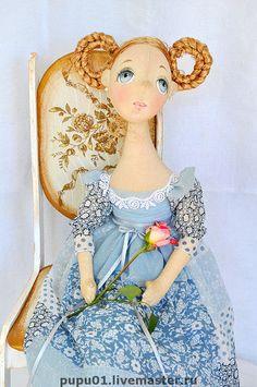 Коллекционные куклы ручной работы. Ярмарка Мастеров - ручная работа Барышня. Handmade.