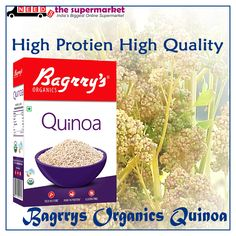 Make your fit and Healthy with Bagrry's #Organics Quinoa 😊#Protein and Fiber a Healthy South American Whole #Grains get online at best price on #NeedsTheSupermarket