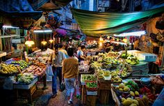 My dream trip ... would be a week long guided tour of food in #HongKong.  Above: Central wet market, Hollywood Road, Hong Kong via theguardian