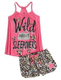 Initial Pajama Set