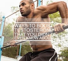 Boost your testosterone in the blink of an eye! These awesome tricks are sure to help you quickly and effectively boost your testosterone. Go ahead and learn something new.