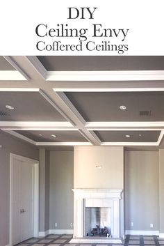 Looking for a small way to make a big change in your home? Check out our new blog post on coffered ceilings!
