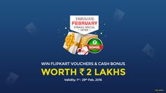 Play Points/Strikes Rummy Games at ClassicRummy & win FLIPKART VOUCHERS worth 2 LAKHS!   Offer Valid till 29th Feb, 2016  https://www.classicrummy.com/fabulous-special-offer?link_name=CR-12  #rummy #classicrummy #pointsrummy #strikesrummy #rummygames #flipkartvouchers #flipkart #freecash #onlinerummy