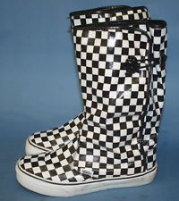 Vans checkered rain boots I love wearing these in the rain ...