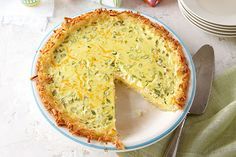 Potato-Crusted Quiche Image 1