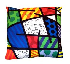Cushion by Romero Britto