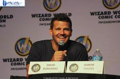 David Boreanaz at Wizard World Philadelphia 2014! Photo: Diane Cooney. @WizardWorld @David_Boreanez @Cooney_Writes