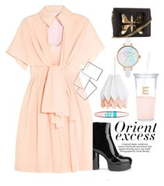 """""""inklue"""" by fixapayno on Polyvore featuring Delpozo, Marc Jacobs, Nicole, Gucci, Maybelline and Kate Spade"""
