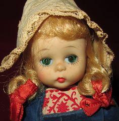 Vintage Madame Alexander Dutch Girl Doll (1965-1972)