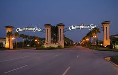 ChampionsGate is located just minutes from the Disney, SeaWorld and Universal; and shopping and dining in nearby Celebration and Orlando