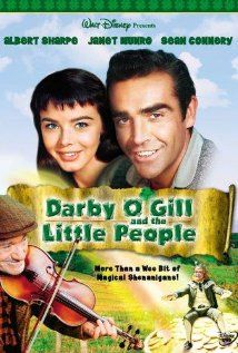 Darby O'Gill and the Little People, with Sean Connery.  I watch it every St. Paddy's Day... reminds me of childhood! :)