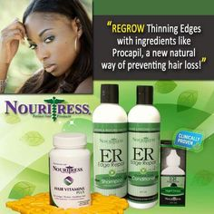 Nouritress Natural Hair Products