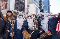 """Introducing the delightfully strange """"Bakeneko Festival,"""" full of kittycosplayers"""