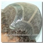 Fine Mono with Transparent PU perimeter and French Lace front Hair Mens Wig Factory directly, low price, high quality, 20 years experiences in this line, nice and professional service. Don't hesitate, contact now, you will obtain $30 discount for