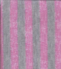 Famous Maker Mini Stripe Jersey Knit Fuschia
