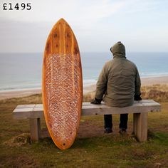 James Otters wooden surfboards