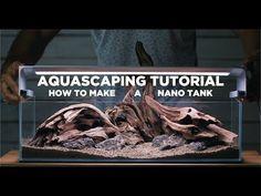 Building high-tech NANO TANK - my most detailed Aquascaping tutorial yet Planted Aquarium, Planted Betta Tank, Aquarium Fish, Nano Tank, Tank I, Fish Tank, Aquascaping, Colorful Fish, Tropical Fish