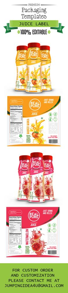 Supplement Label Template Vol-10 Label templates, Ai illustrator - label design templates