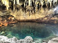 """The Hinagdanan Cave, meaning """"Laddered"""" in Cebuano, is only km away from the center of Dauis Town, and 15 km. away from Tagbilaran City. Cave, Beautiful Places, Island, Vacation, Chocolate Hills, Bohol Philippines, Outdoor, Language, Paintings"""