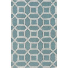 Arise Evie Light Blue 2 ft. x 3 ft. Indoor Accent Rug