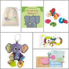Coffret-cadeau enfant - ZAZOPACK+ TIWA JUNGLE 6-9 mois- Baby gift basket Jungle 6-9 months - 59.00€