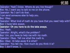 Kid llamada al 911 para obtener ayuda con las matemáticas - YouTube