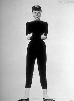 Audrey Hepburn en 1953.                                                                                                                                                                                 Plus