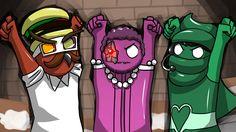 THE VANOSS DE TERRORISER BAND! - Gang Beasts Funny Moments