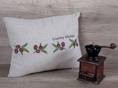 Check out this item in my Etsy shop https://www.etsy.com/listing/271725846/cool-olives-embroidered-pillow-cover
