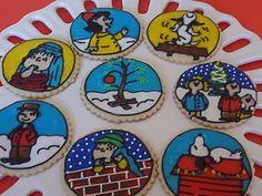 Charlie Brown #Christmas #Cookies