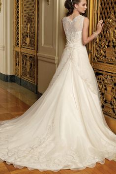 elegant wedding gown - Google Search