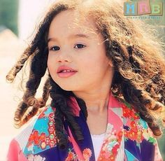 Mixed Race Babies: Parker Lyn- Caucasian and Japanese mum and African American dad.