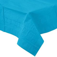 Waterproof Plastic Lined Highly Absorbent Paper Tablecover 137cm x 274cm - Turquoise Unique http://www.amazon.co.uk/dp/B00Y8HX3MI/ref=cm_sw_r_pi_dp_3T7nwb0FCYQD6