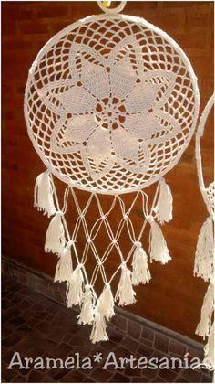 atrapasueños mandala a crochet