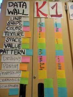 data wall that's totally realistic for the art room!