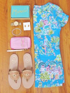 Lilly Pulitzer + Jack Rodgers = perfect spring time outfit