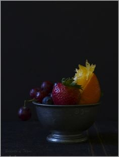 Winter Mixed Berry and Citrus Sorbet - Thyme