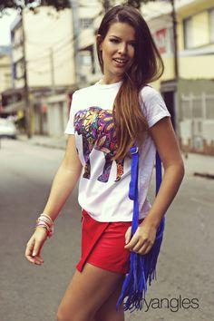 Lidia Queiroz #ensaio #moda #editorial #photoshoot #fashion #skort