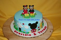 #Mickey Mouse and Minnie cake #Torta Topolino e Minnie #