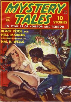 Mystery Tales June 1938