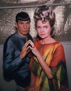 Still of Leonard Nimoy and Jane Wyatt in Family Plots: Live Long and Prosper