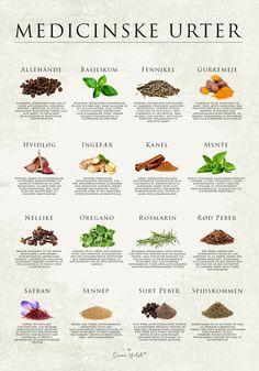 ÅRSTIDERNES GRØNTSAGER – Simon Holst Healthy Drinks, Healthy Recipes, Food Crush, Food Charts, Alternative Medicine, Herbalism, Clean Eating, Food And Drink, Vegetarian