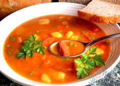 Buřtguláš s domácím chlebíčkem | NejRecept.cz Thai Red Curry, Ethnic Recipes, Author